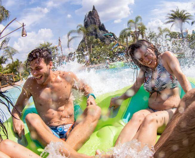 Water Ride in Universal Orlando Theme Parks